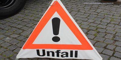 Schild Unfall