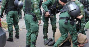Polizeieinsatz Demo München