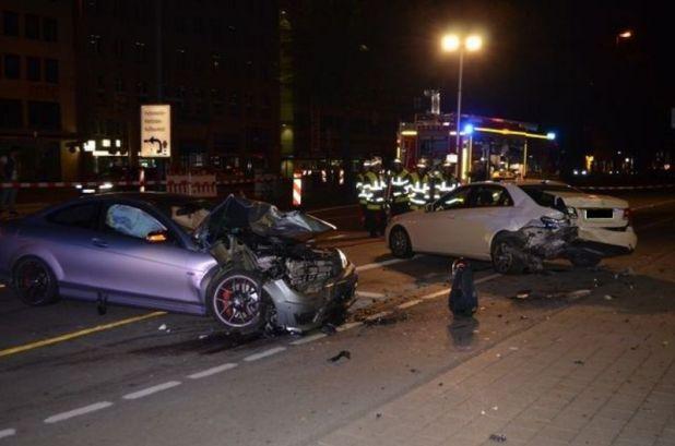 Verkehrsunfall Sonnenstraße München Quelle Foto Polizei München