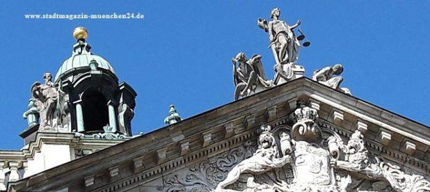 Symbolbild Gericht Justizia