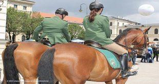 Symbolbild Reiterstaffel Polizei München