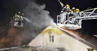Brand Vereinsheim Schwere Reiter Straße München Neuhausen Quelle Berufsfeuerwehr München