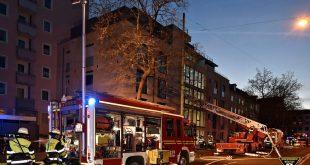 Wohnungsbrand Chiemgaustraße München Quelle Foto Berufsfeuerwehr München