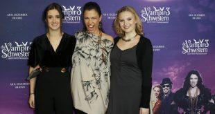 Premiere Vampirschwestern 3 Laura Roge, Jana Pallaske, Marta Martin Quelle Foto Sony Pictures