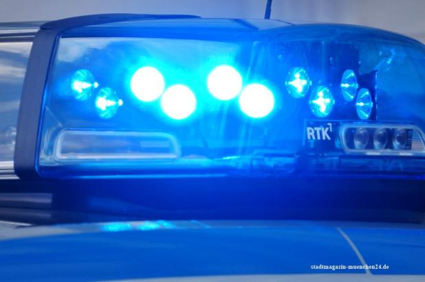 Blaulicht Polizeiauto