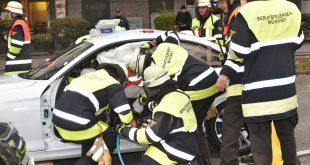 Verkehrsunfall Riesenfeldstraße Quelle Foto Feuerwehr München