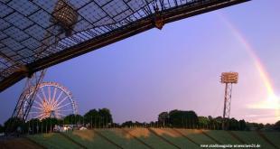 Olympiapark München impark Sommerfest Riesenrad Regenbogen