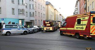 Kabelbrand in der Maxvorstadt München