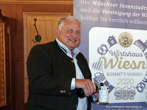 Nockherberg Wirt Christian Schottenhamel