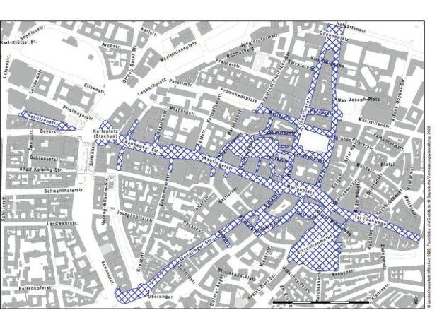 Maskenpflicht Altstadt München