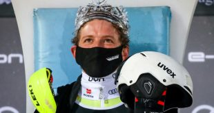 Skilöwe Linus Straßer vom TSV 1860 München krönt seine Karriere mit seinem ersten Weltcup Slalomsieg am 6.1.2021 in Zagreb