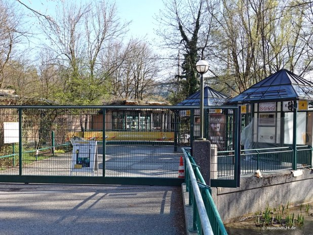 Tierpark Hellabrunn in München wieder geschlossen