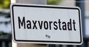 Schild Maxvorstadt
