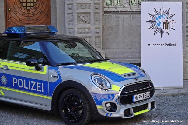 Mini Polizei Streifenwagen Pressestelle München