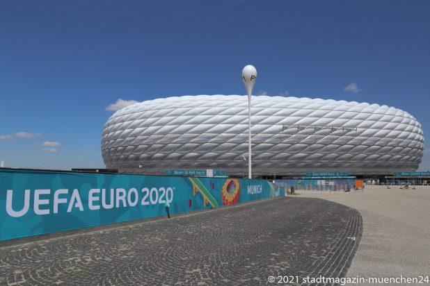 Allianz Arena München - Austragungsort der Fußball Europameisterschaft EURO 2020