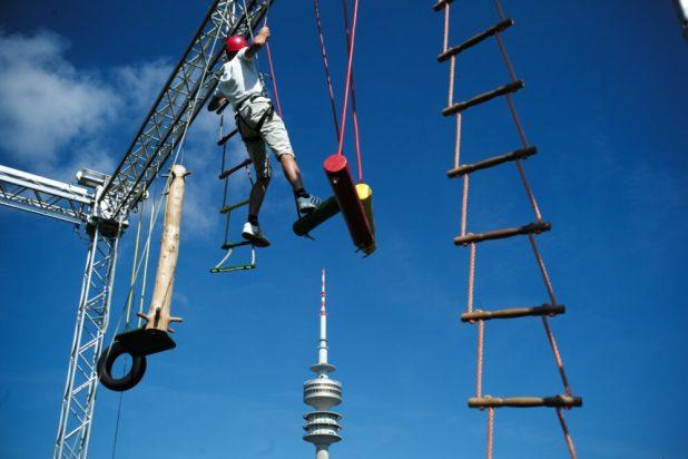 Münchner Outdoor-Sportfestival im Olympiapark München