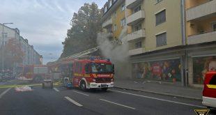 Wohnungsbrand in der Karl-Thedor-Straße
