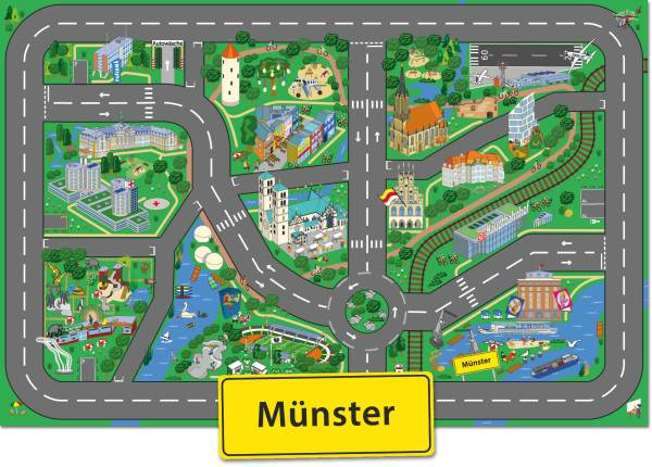 Spielteppich-Munster