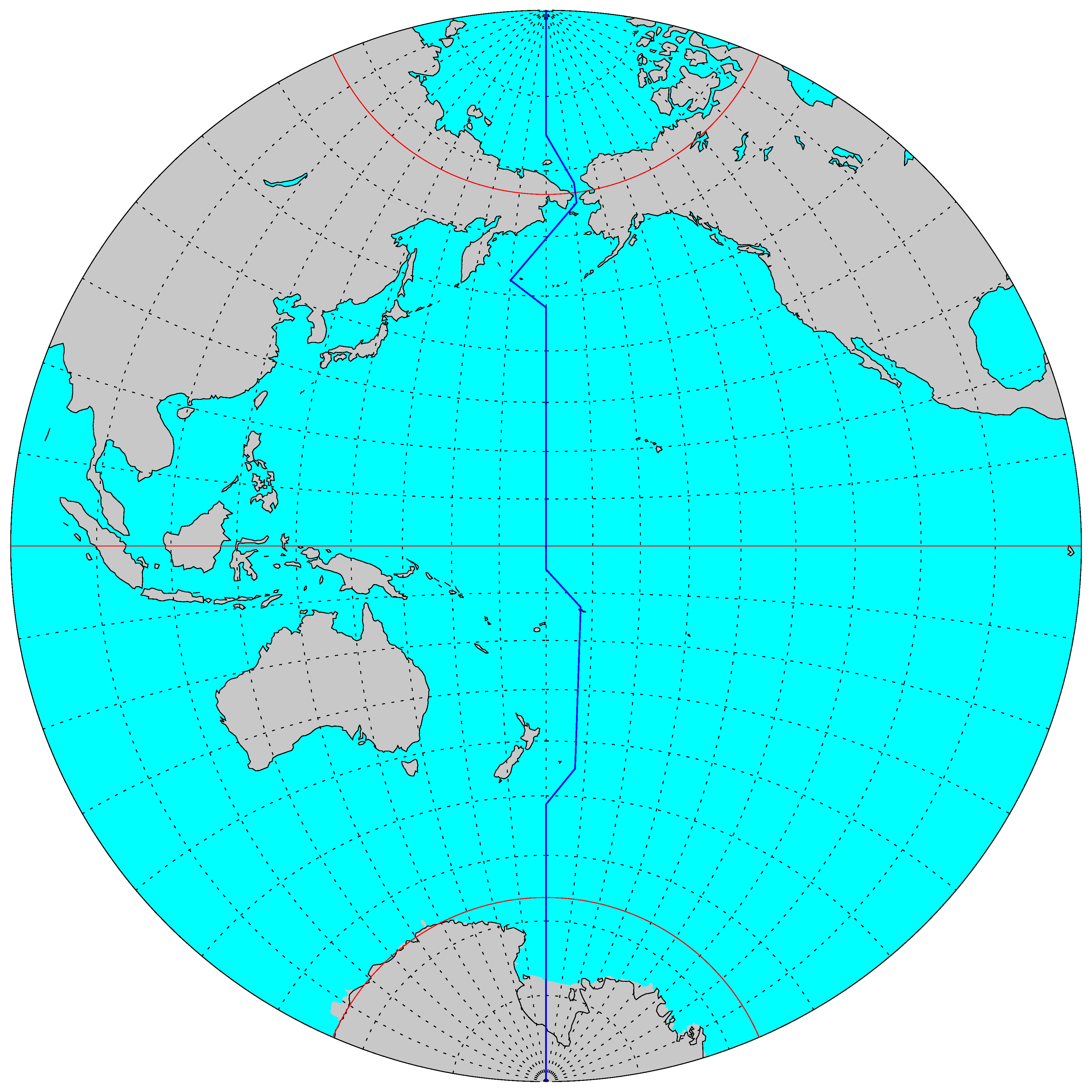 A History Of The International Date Line