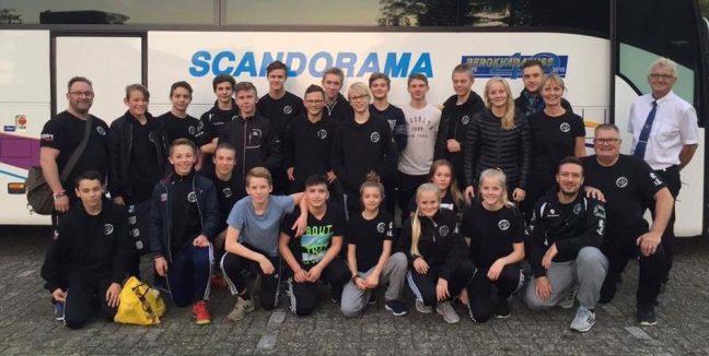 Staffanstorps judoklubbs gäng till Holland 2017