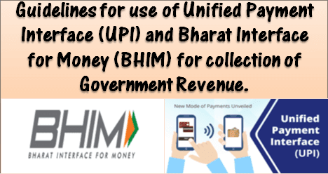 Enable all digital payment modes for collection of Govt. Revenue: Fin Min OM instructs to all Ministries/Department