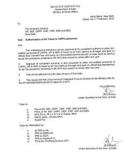 mha-order-authorisation-of-air-travel-to-capf-personnel