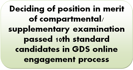 deciding-of-position-in-merit-of-compartmental-supplementary-examination-passed-10th-standard-candidates-in-gds-online-engagement-process