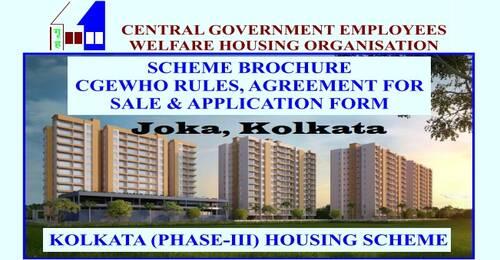 Kolkata (Phase-III) Housing Scheme at Joka, 24 Pargana, Kolkata: Advertisement, Scheme Brochure & Demand Survey Data