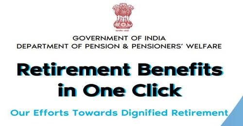 Retirement Benefits in One Click – Booklet by Department of Pension & Pensioners Welfare