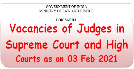 vacancies-of-judges-in-supreme-court-and-high-courts-as-on-03-feb-2021