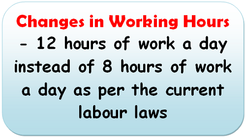 changes-in-working-hours-12-hours-of-work-a-day-instead-of-8-hours-of-work-a-day-as-per-the-current-labour-laws