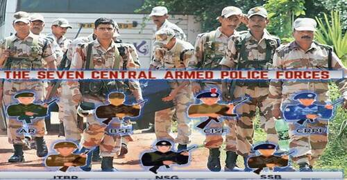 Resignation and Voluntary Retirement by Paramilitary Personnel: 40,096 VR and 6,529 Resignations in last 5 years
