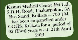 empanelment-of-kasturi-medical-centre-pvt-ltd-under-cghs-kolkata