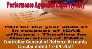 performance-appraisal-report-par-for-the-year-2020-21-in-respect-of-idas-officers