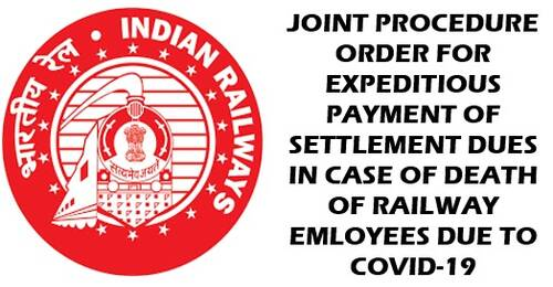 Settlement Forms to be filled by the retiring Railway servant: Order dated 14.07.2021