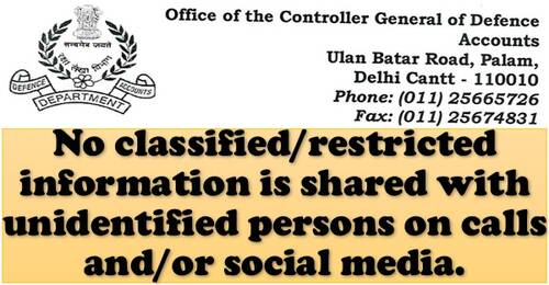 Unauthorized communication/revelation of classified information – CGDA order