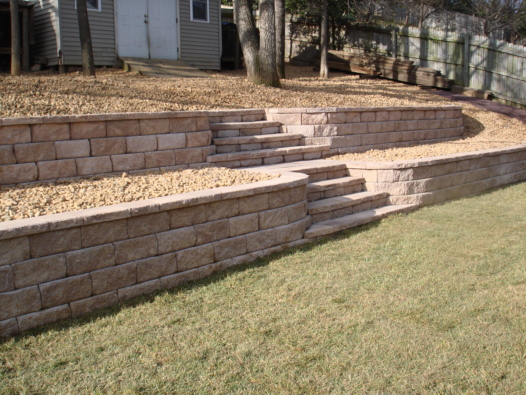 1000 images about front yard on pinterest retaining on retaining wall id=38133