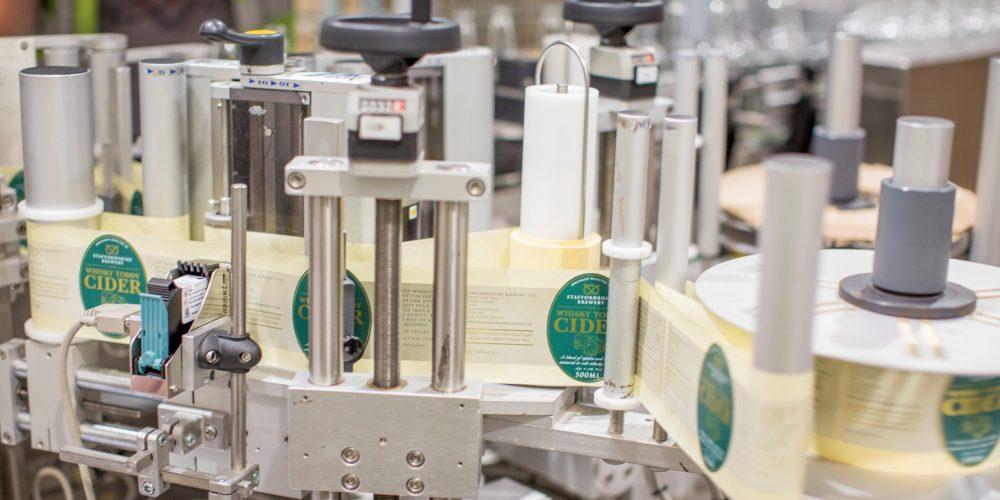 contract bottling beer labeller machine