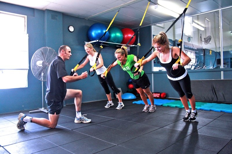 TRX System Group Fitness Workout