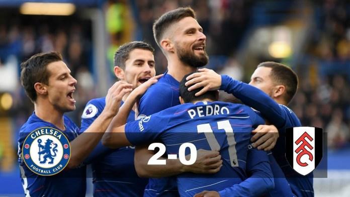 Chelsea vs fulham highlights & full match.