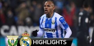 Leganes Vs Real Madrid 1-0 2019