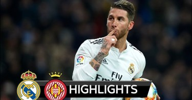 Real Madrid Vs Girona 4-2 Goals & Highlights - 2019