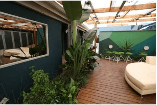BB Naija house in South Africa