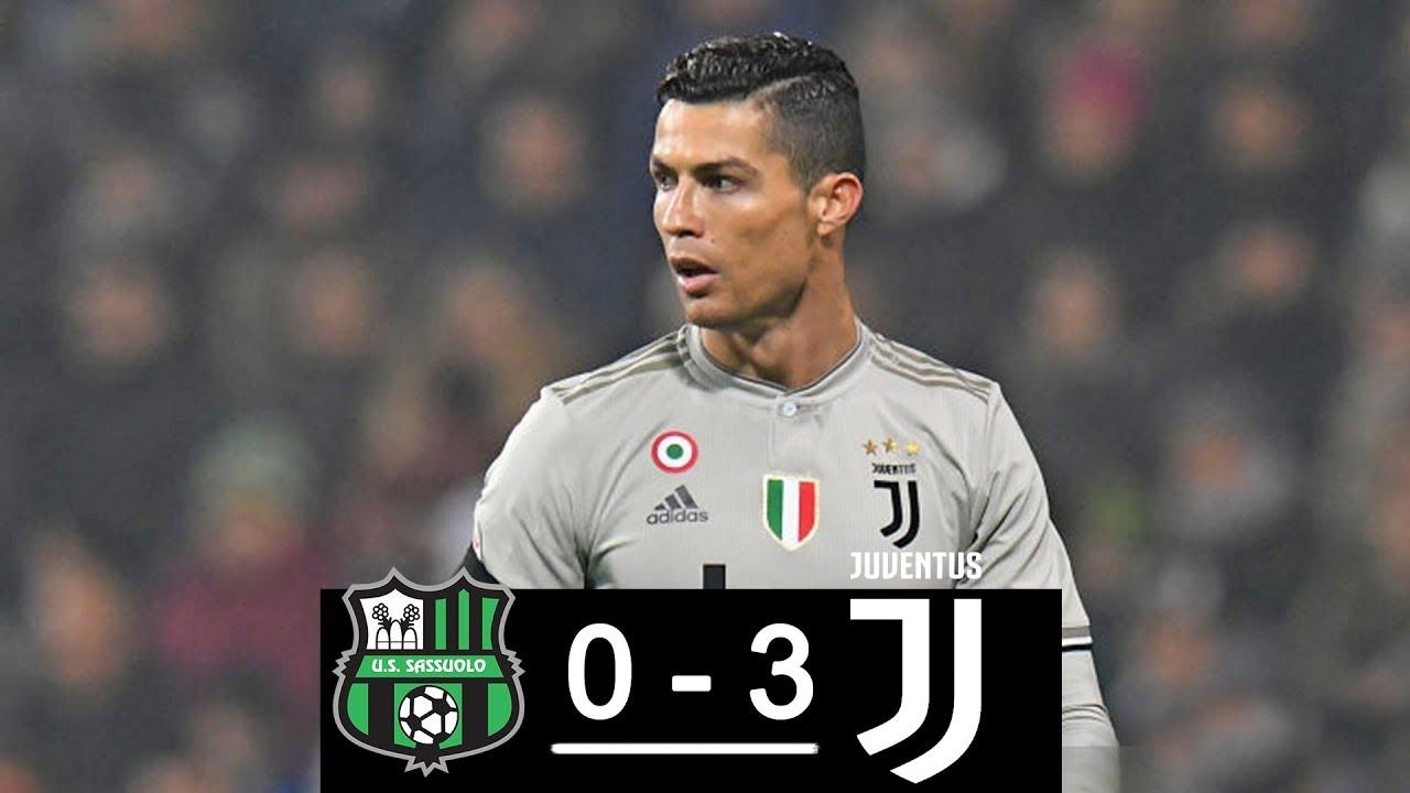 Afbeeldingsresultaat voor sassuolo juventus 0-3 2019