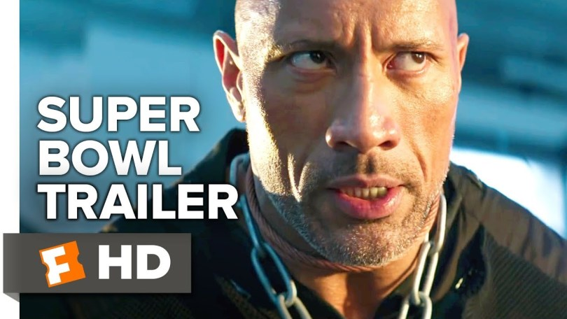 Hobbs and Shaw Super Bowl Trailer