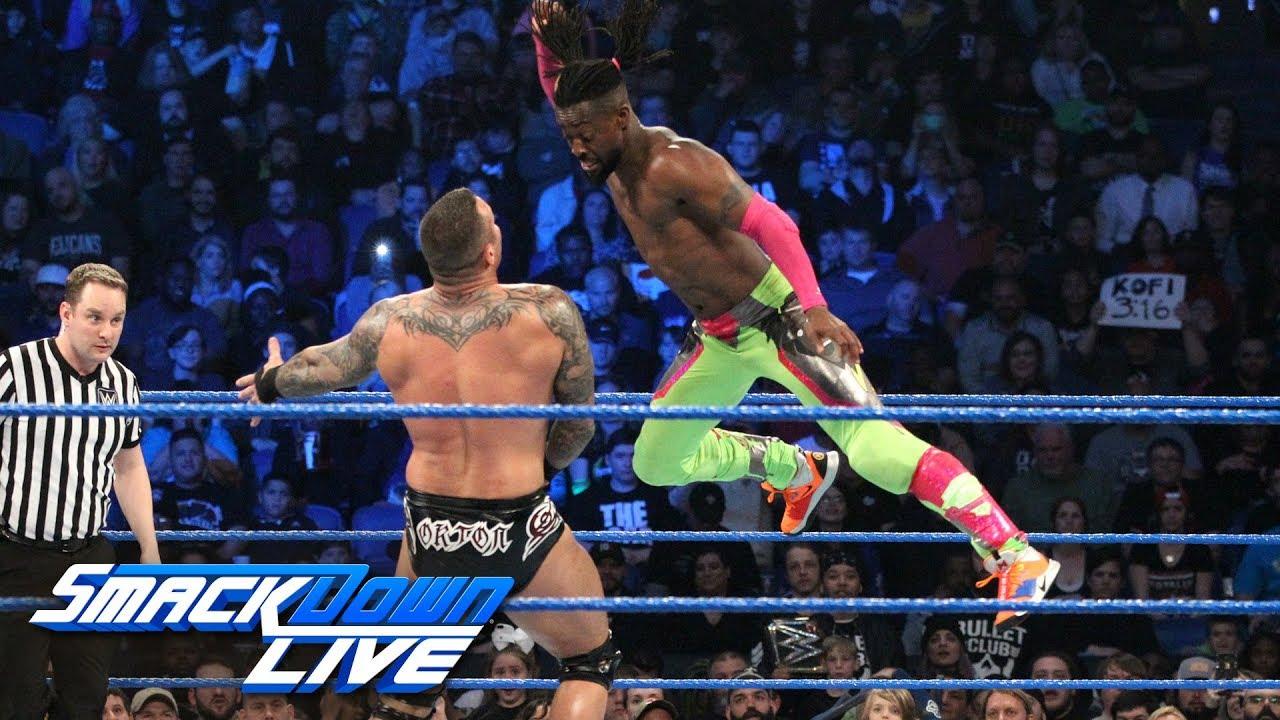 Styles, Hardy & Kingston vs Bryan, Orton & Samoa Joe – SmackDown LIVE, Feb. 19, 2019