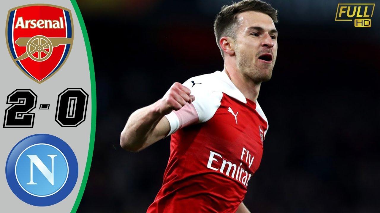Arsenal vs napoli goal highlights