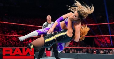 becky lynch nikki cross vs the i