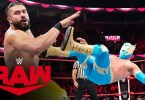 Sin Cara vs Andrade – Raw, Oct 21, 2019