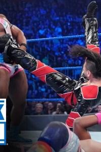 Braun Strowman & The New Day vs. Shinsuke Nakamura, Cesaro & Sami Zayn – SmackDown, Dec. 27, 2019